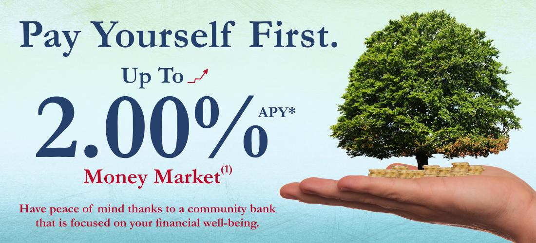Money Market 2.00% APY*